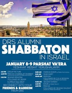 Alumni Shabbaton in Israel