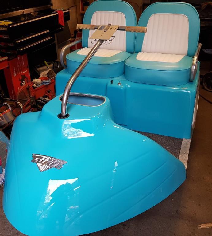 1950's Golf Cart