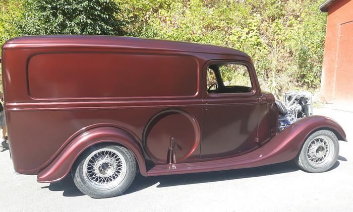 1935 Ford Panel Van