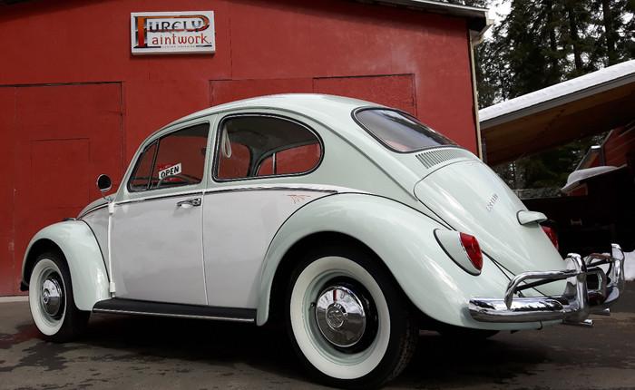 1966 VW Beetle restoration.