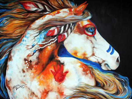 La dimension sacrée du cheval