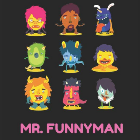 """REVIEW: """"Mr. Funnyman"""" by Shawn Berman, reviewed by Jay Miller"""