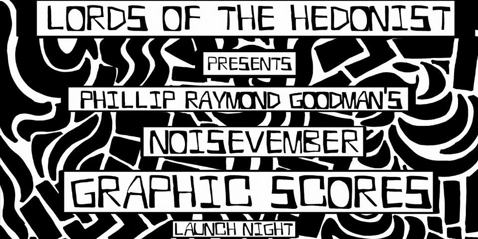 Noisevember Graphic Scores launch night