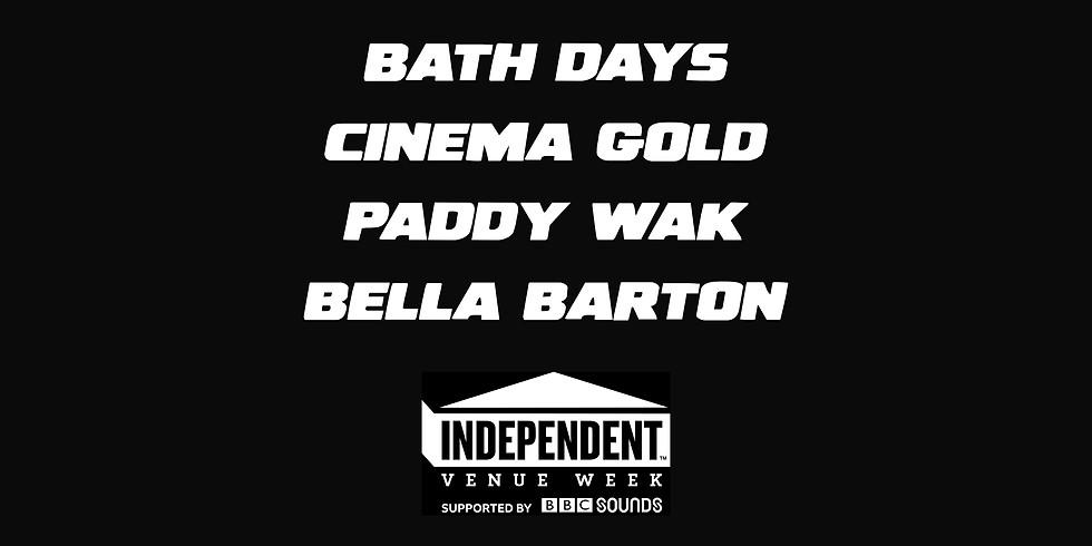 IVW 2020: Bath Days / Cinema Gold / Paddywak / Bella Barton