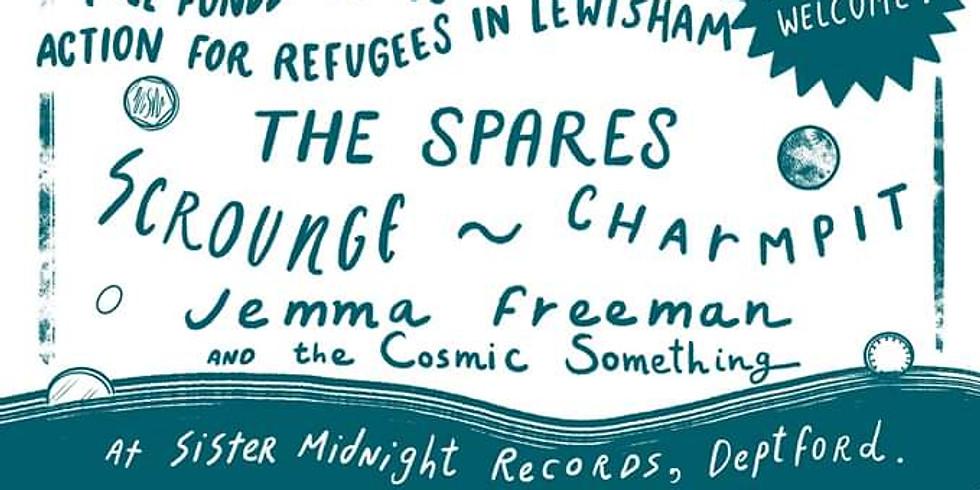 Spare Change w/Charmpit/The Spares/Jemma Freeman/Scrounge