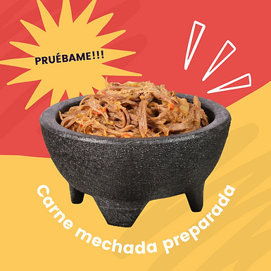 Carne mechada congelada 500g Keto friendly.