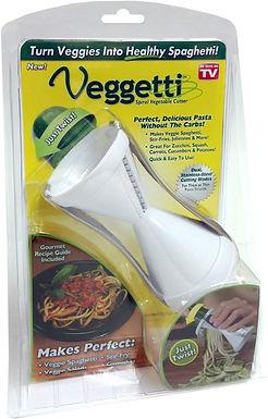 Spirilizer cortador de vegetales en forma de past
