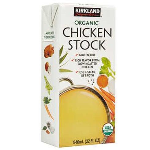 Caldo de pollo organico 946 ml
