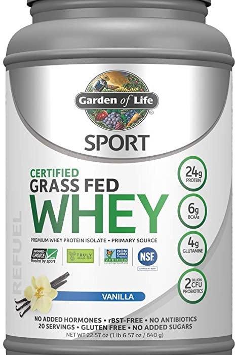 Proteína de vainilla Grass Fed Clean Whey Protein
