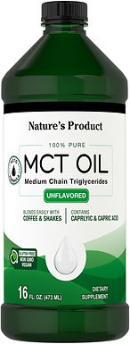 Aceite MCT oil 473 ml
