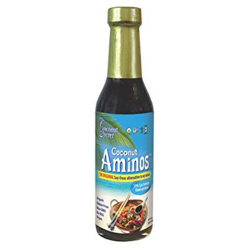 Coconut aminos sustituto para la salsa de soya