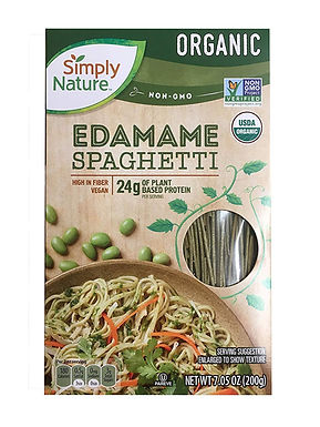 Espagueti de edamame keto vegano 200g