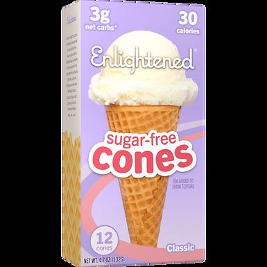 Conos para helado sin azúcar- 12 conos