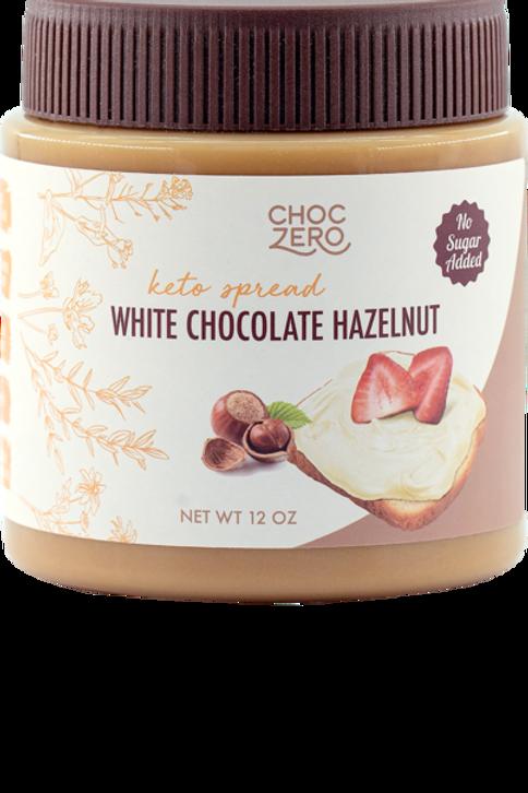 Crema de chocolate blanco de AVELLANAS 369g