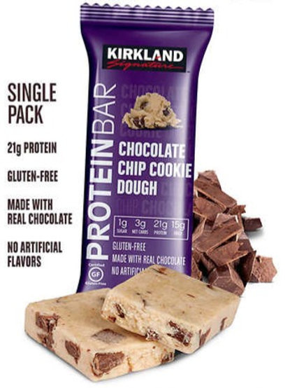 Barra de proteína sabor Chocolate Chip Cookie Dough