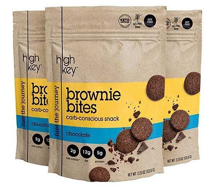 Mini galletas Brownie bites 63.8 g