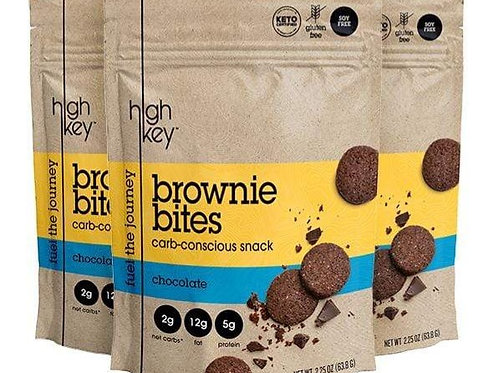 Mini galletas Brownie bites 63.8 g