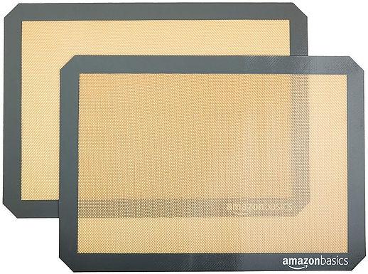 Mat de silicón para hornear (2 und)