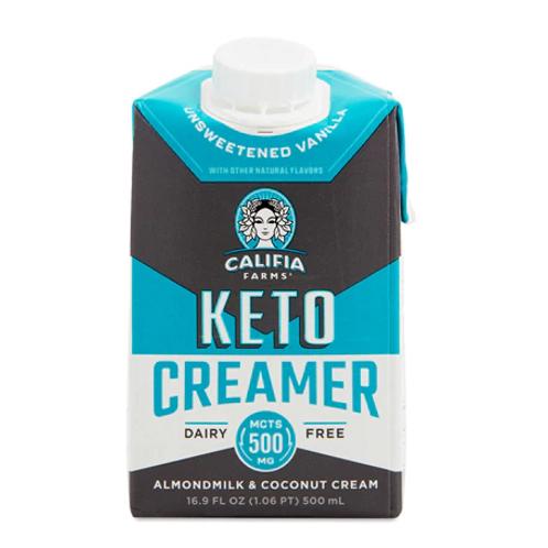 keto Creamer de coco y almendras  500mL
