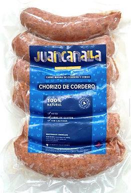 Chorizo de cordero 100 % natural Keto