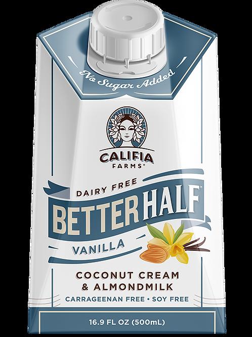 Crema para café de coco y almendras sabor vainilla 500mL