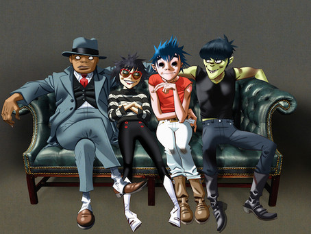 Stream Gorillaz New Album Humanz Now in 360 | See Them Live at Rough Trade NYC April 25 | New Tour D