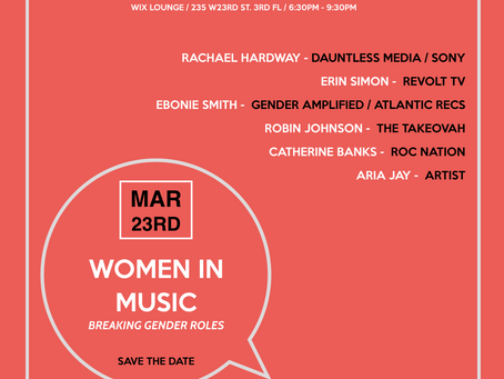 Celebrate Women's History Month and Join Us At The Dauntless Media Queens Women in Music Digilog
