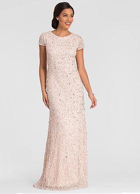 Роскошное платье с пайеткой