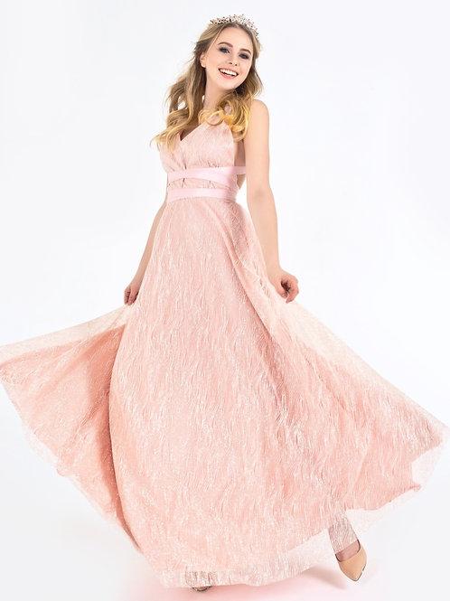 Оригинальное мерцающее платье