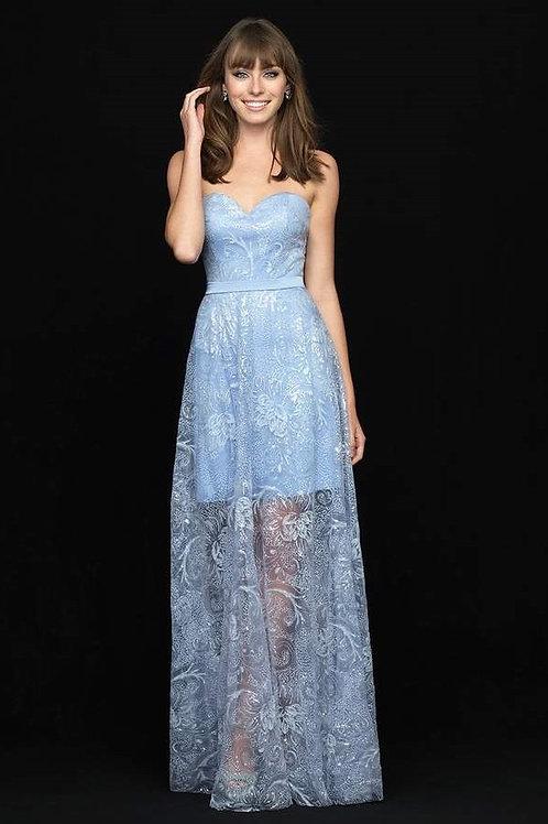 Мерцающее платье-бюстье