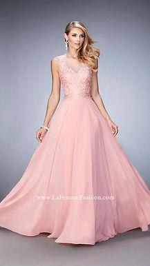 Струящееся шифоновое платье