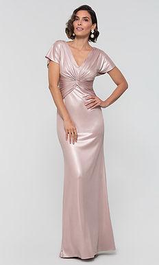 Минималистичное вечернее платье