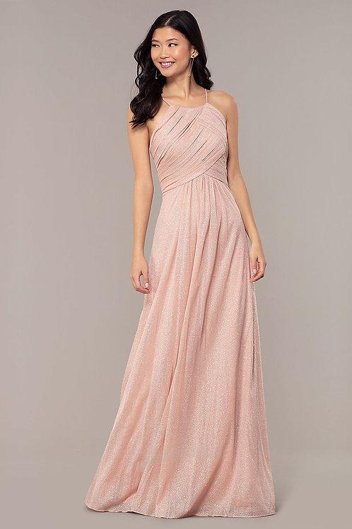 Вечернее платье с глиттером