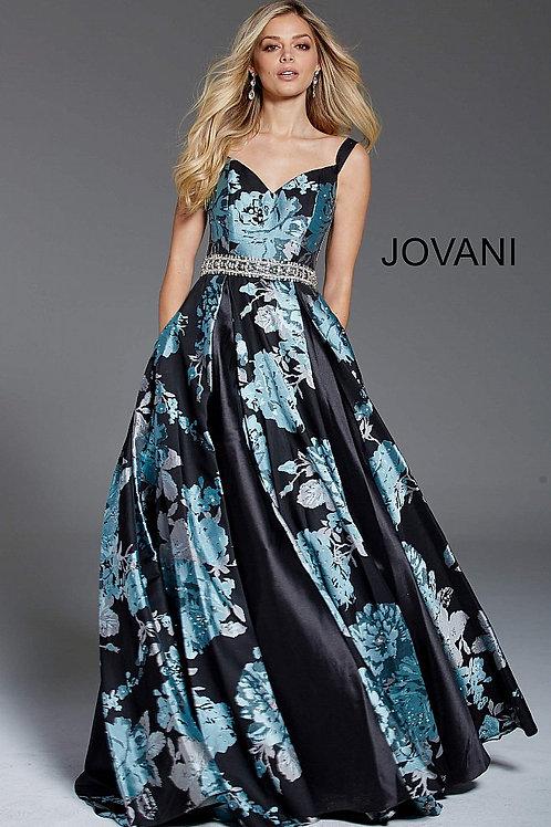 Платье Jovani 54520 с цветами
