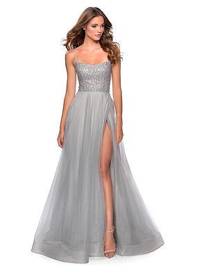 Роскошное платье с разрезом