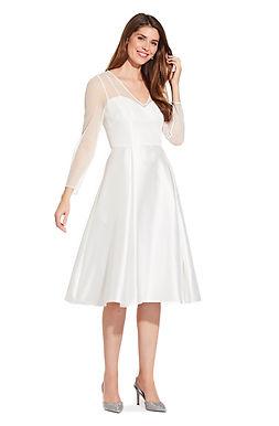 Минималистичное платье на роспись