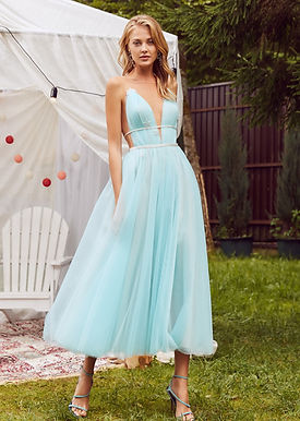 Платье миди Вербена