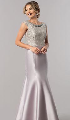 Роскошное платье-годе
