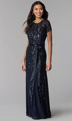 Роскошное платье-годе с паейткой