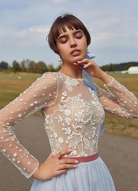 Воздушное платье миди Тэвия