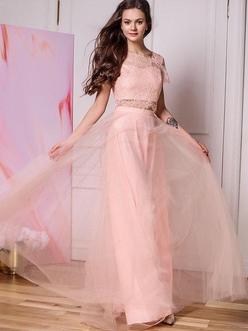 Трендовое раздельное платье