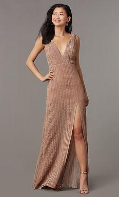 Блестящее платье в греческом стиле