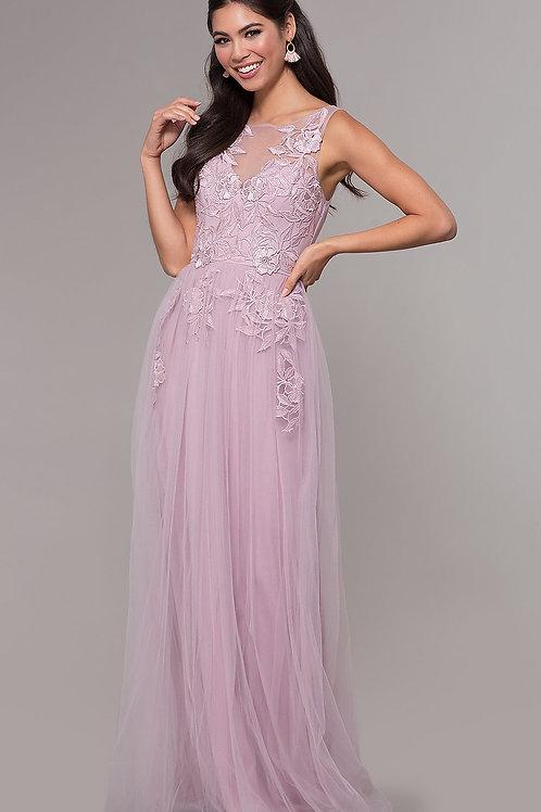 Выпускное платье с кружевом