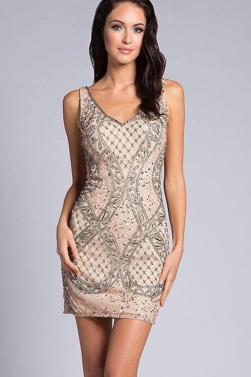 Коктейльное платье в стиле Гэтсби