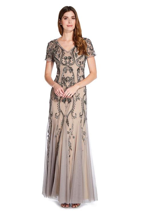 Роскошное вечернее платье-годе