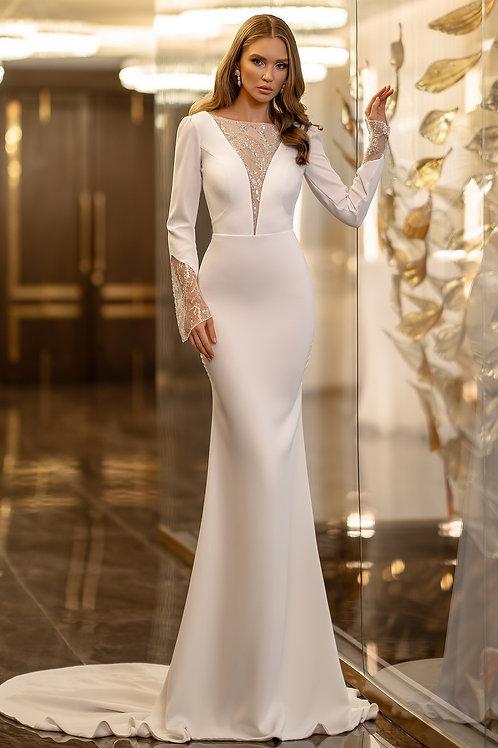 Элегантное платье по фигуре Жаклин