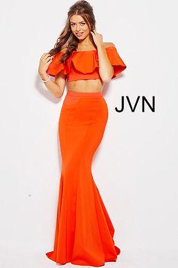 Платье JVN by Jovani 45164 (синий)