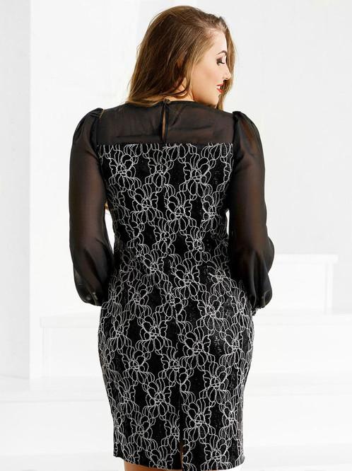Коктейльное платье-футляр