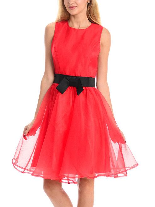 Воздушное выпускное платье