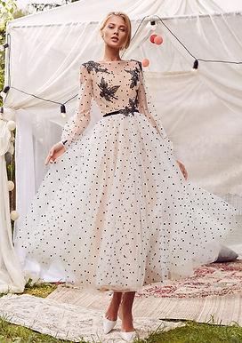 Платье в горошек Шая